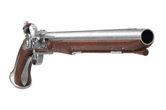 Oggetto d'antiquariato della pistola della pistola Fotografia Stock