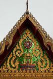 Oggetto d'antiquariato di religione nella progettazione della Tailandia Immagine Stock