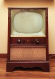 Oggetto d'antiquariato TV Immagini Stock