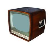 Oggetto d'antiquariato TV Immagine Stock Libera da Diritti
