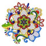 Oggetto decorativo tradizionale messicano illustrazione di stock