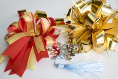 Oggetto del regalo Bow Immagini Stock