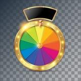 Oggetto della ruota della fortuna 3d royalty illustrazione gratis
