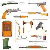 Oggetto di caccia dell'insieme Fotografia Stock