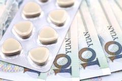 Oggetto di spese mediche fotografia stock libera da diritti