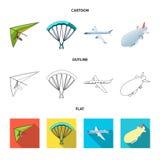 Oggetto isolato del logo dell'oggetto e di trasporto Metta del trasporto e dell'illustrazione di riserva scivolante di vettore royalty illustrazione gratis