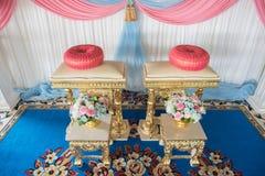 Oggetto nella cerimonia di nozze tailandese Fotografie Stock Libere da Diritti