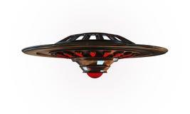 Oggetto volante non identificato Fotografia Stock Libera da Diritti