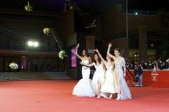 Oggi Sposi female cast Royalty Free Stock Image