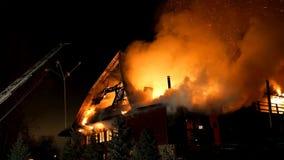 ogień Blask jatki spalanie i pożoga Zdjęcia Stock