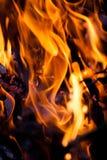 Ogień i upał Zdjęcia Stock