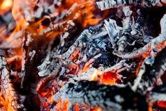 Ogień i upał Zdjęcie Royalty Free