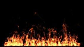 ogień odizolowane royalty ilustracja