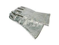 Ogień - odporne rękawiczki Zdjęcia Royalty Free