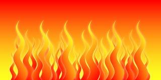 ogień piekła Zdjęcia Royalty Free