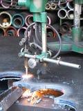 ogień rżnięta maszyna Obraz Royalty Free
