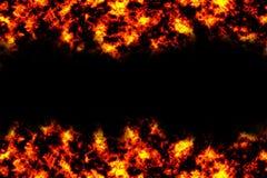 ogień tło Obrazy Stock