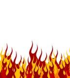 ogień tło ilustracja wektor