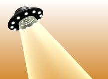 ogień występować samodzielnie światła ufo fale Zdjęcia Royalty Free