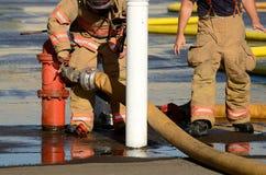 Ogień ziemia Zdjęcia Royalty Free