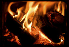 ogień Obraz Stock