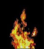 Ogień. Zdjęcia Stock