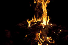 Ogień 1 obraz royalty free