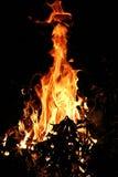 2 ogień Zdjęcia Stock