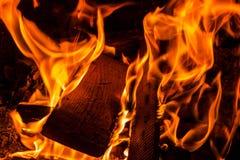 Ogień, Fotografia Stock