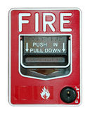 ogień alarmu Obrazy Royalty Free