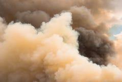 Ogień chmury Obraz Stock