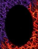 ogień cyfrowych ramy purpurowy Obraz Royalty Free