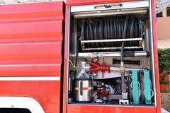 ogień firetruck silnika stare show Obraz Stock
