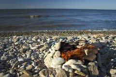 Ogień i woda Zdjęcia Royalty Free