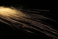 ogień iskry Obraz Stock
