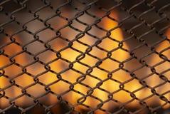 Ogień & ogienia miejsce Obrazy Royalty Free