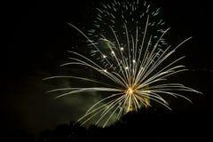 Ogień prac promienie przychodzi od St Rumbold wierza Fotografia Stock