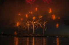 Ogień woda i pracy Zdjęcia Royalty Free