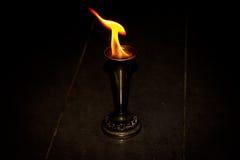 Ogień z ogieniem Fotografia Stock
