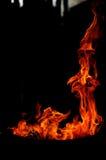Ogieni kształty obraz royalty free
