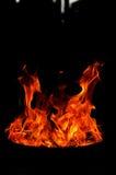 Ogieni kształty zdjęcie stock