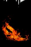 Ogieni kształty obrazy stock