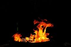 Ogieni kształty zdjęcia royalty free