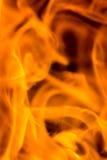 Ogienia i płomienia szczegół Obraz Stock