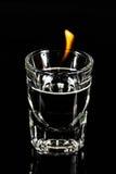 Ogienia strzał Obraz Royalty Free