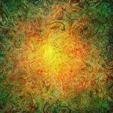 Ogienia swirly jaskrawy tło Obrazy Stock