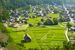 Ogimachi village Stock Photo