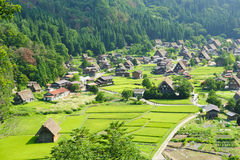 Ogimachi village Stock Photography