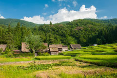 Ogimachi village Stock Images