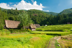 Ogimachi village Stock Image